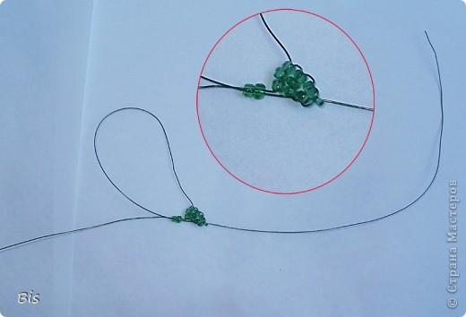 Рябина из бисера своими руками - мастер класс