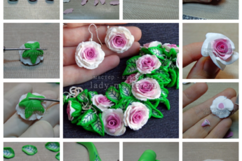 Цветы из полимерной глины - пошаговая инструкция для начинающих