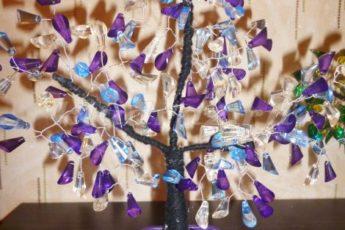 Дерево счастья из бисера мастер класс с пошаговым фото