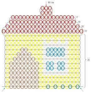 Домик из бисера: три мастер-класса разного уровня сложности