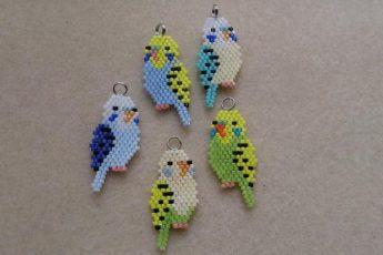 Попугай из бисера своими руками - мастер класс