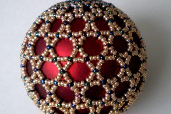 Брошь Перо павлина из бисера своими руками - мастер класс