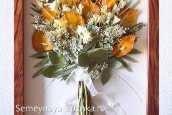 Поделки из цветов: из живых и сухих, красивые и интересные идеи