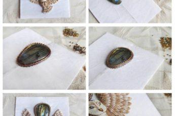 Сказочный кулон с совой из бисера своими руками - несколько способов создания