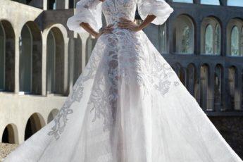 Тренд 2021 года – блестящее свадебное платье: лучшие модели и фото модных нарядов