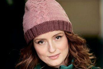 Узоры для шапок спицами: красивая подборка со схемами